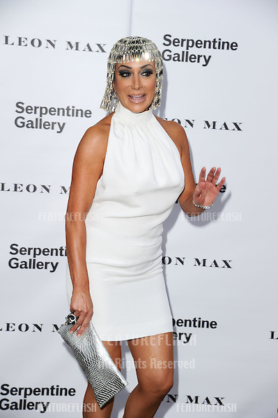 Nancy Dell'Olio arriving for the Serpentine Gallery Summer Party 2012, Hyde Park, London. 26/06/2012 Picture by: Steve Vas / Featureflash