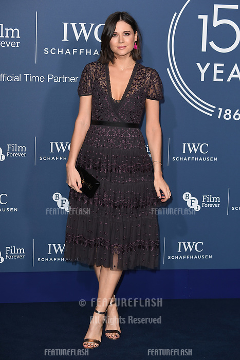 LONDON, UK. October 09, 2018: Lilah Parsons arriving for the 2018 IWC Schaffhausen Gala Dinner in Honour of the BFI at the Electric Light Station, London.<br /> Picture: Steve Vas/Featureflash