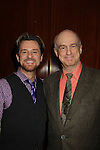 Ric Ryder (The Music Man, Grease, Blood Brothers) and Barry Keating (President Theatre World Awards) as they support the Broadway Extravaganza to honor the Candidacy of Artist Jane Elissa for the Leukemia & Lymphoma Society, Man & Woman of the Year on April 23, 2012 at the New York Marriott Marquis, New York City, New York.  (Photo by Sue Coflin/Max Photos)