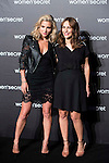 Elsa Pataky (L) and Paula Ortiz (R) attends to the presentation of the first videoclip of Women'Secret in Madrid, Novermber 11, 2015.<br /> (ALTERPHOTOS/BorjaB.Hojas)