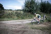 Lionel Taminaux (BEL/Wallonie-Bruxelles) riding the off-road sector<br /> <br /> Antwerp Port Epic 2019 <br /> One Day Race: Antwerp > Antwerp 187km<br /> <br /> ©kramon