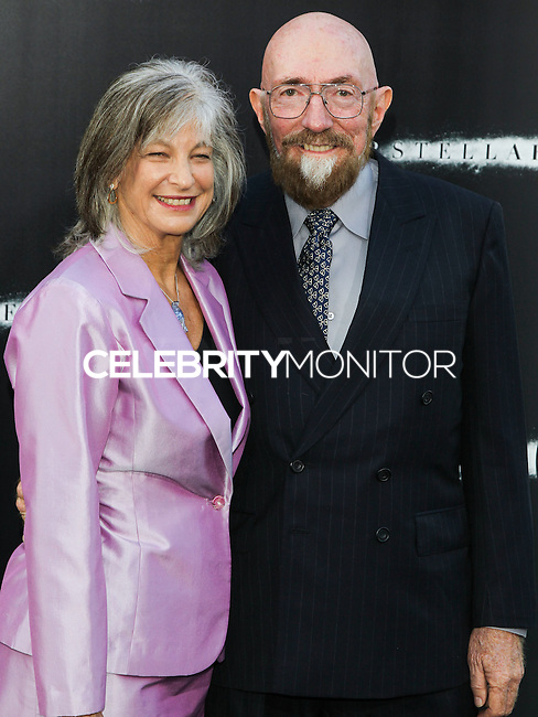 HOLLYWOOD, LOS ANGELES, CA, USA - OCTOBER 26: Kip Thorne arrives at the Los Angeles Premiere Of Paramount Pictures' 'Interstellar' held at the TCL Chinese Theatre on October 26, 2014 in Hollywood, Los Angeles, California, United States. (Photo by Celebrity Monitor)