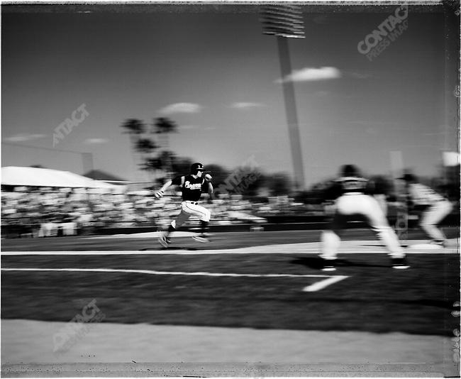 USA, Major League Baseball, Spring Training, Florida, February 2005. ..2005 © David BURNETT (CONTACT PRESS IMAGES)