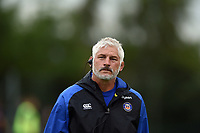 Bath Director of Rugby Todd Blackadder looks on during the pre-match warm-up. Pre-season friendly match, between Edinburgh Rugby and Bath Rugby on August 17, 2018 at Meggetland Sports Complex in Edinburgh, Scotland. Photo by: Patrick Khachfe / Onside Images