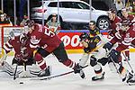 Deutschlands Reimer, Patrick (Nr.37) im Zweikampf mit Lettlands Galvins, Guntis (Nr.58) um den Puck beim Spiel der IIHF 2017 WM, Deutschland - Lettland.<br /> <br /> Foto &copy; PIX-Sportfotos *** Foto ist honorarpflichtig! *** Auf Anfrage in hoeherer Qualitaet/Aufloesung. Belegexemplar erbeten. Veroeffentlichung ausschliesslich fuer journalistisch-publizistische Zwecke. For editorial use only.