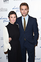 Helen McCrory and Douglas Booth<br /> arriving for the London Film Festival 2017 screening of &quot;Loving Vincent&quot; at the National Gallery, Trafalgar Square, London<br /> <br /> <br /> &copy;Ash Knotek  D3328  09/10/2017