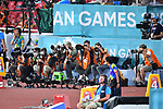 Phographer/General view, <br /> AUGUST 25, 2018 - Athletics : Gelora Bung Karno Main Stadium during the 2018 Jakarta Palembang Asian Games in Jakarta, Indonesia. <br /> (Photo by MATSUO.K/AFLO SPORT)