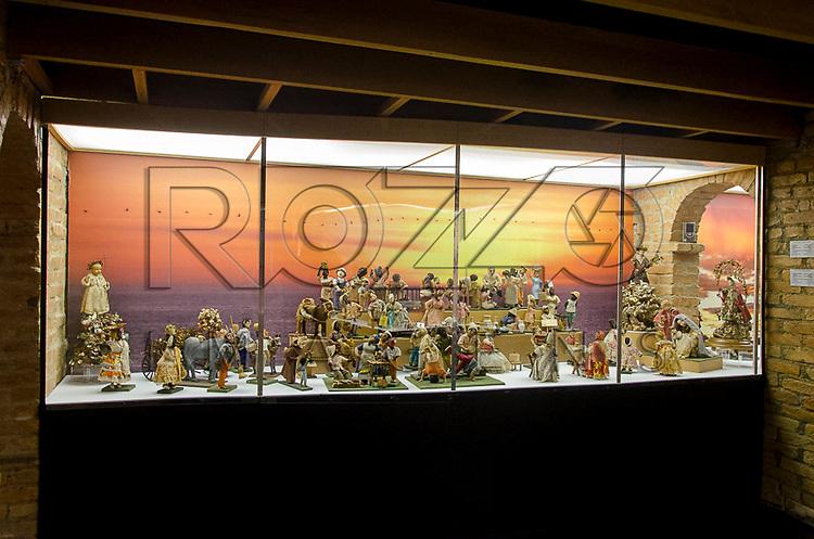 Salão de presépios. Acervo do Museu de Arte Sacra de São Paulo, São Paulo - SP, 02/2013.