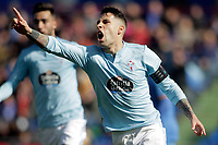 Celta de Vigo's Hugo Mallo celebrates disallowed goal  during La Liga match. February 09,2019. (ALTERPHOTOS/Alconada)<br /> Liga Campionato Spagna 2018/2019<br /> Foto Alterphotos / Insidefoto <br /> ITALY ONLY
