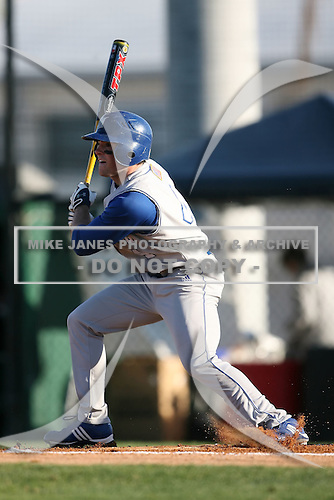 February 20, 2009:  Outfielder Matt Smedberg (4) of Seton Hall University during the Big East-Big Ten Challenge at Jack Russell Stadium in Clearwater, FL.  Photo by:  Mike Janes/Four Seam Images