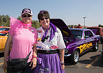 Felicia and Doll Edwards during the Hot August Nights Pre-Kickoff Party at the Bonanza Casino in Reno, Nevada on Sunday, August 6, 2017.