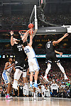 GLENDALE, AZ - APRIL 03: Przemek Karnowski #24 of the Gonzaga Bulldogs and Luke Maye #32 of the North Carolina Tar Heels look for a rebound during the 2017 NCAA Men's Final Four National Championship game at University of Phoenix Stadium on April 3, 2017 in Glendale, Arizona.  (Photo by Chris Steppig/NCAA Photos via Getty Images)