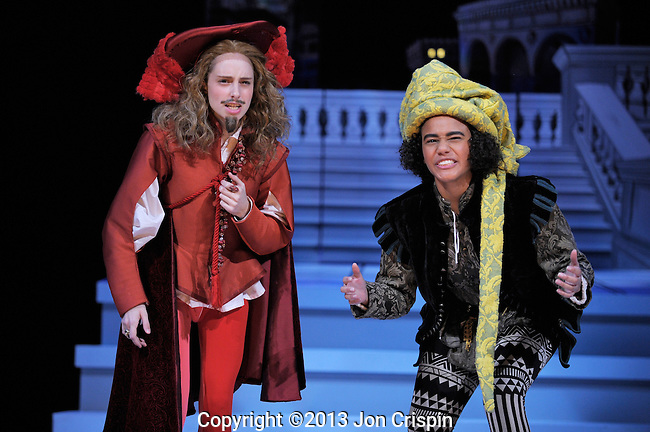 "Mount Holyoke College production photos of ""The Mandrake"""
