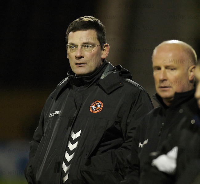 Craig Levein, Dundee Utd.stock season 2006-2007.pic willie vass