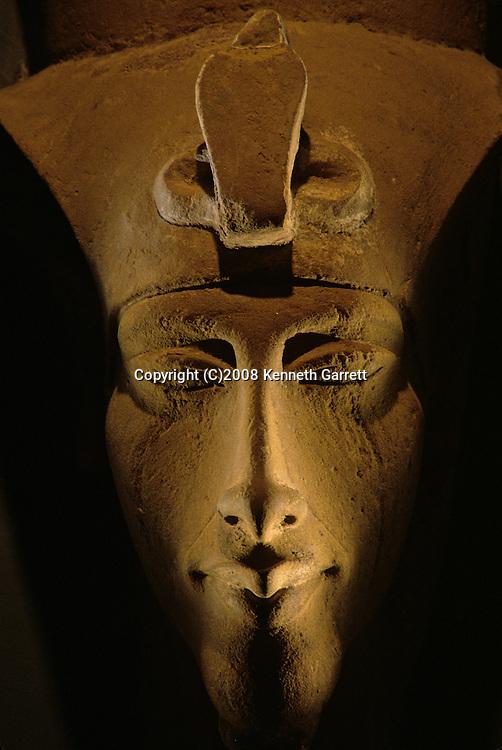 Colossal statue of Akhenaten, Amenhotep IV, Egyptian Museum, Cairo, New Kingdom, Pharaohs of the Sun, Egypt