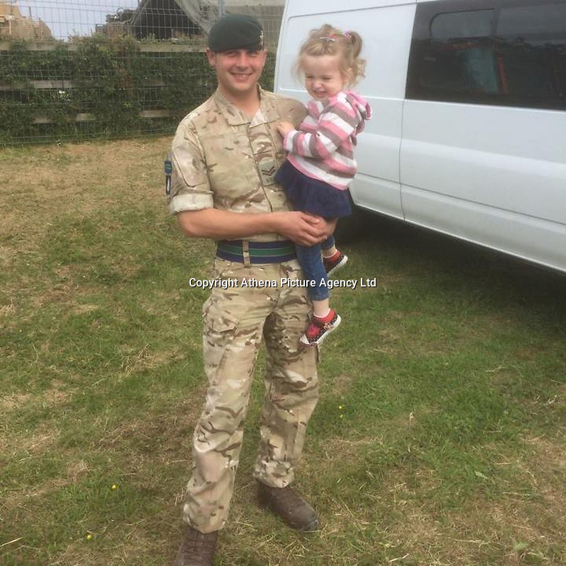 Pictured: Matthew Hatfield (L), image taken from open social media page.<br /> Re: An inquiry into the deaths of two soldiers and the serious injury of two others at a Ministry of Defence base in Pembrokeshire is continuing.<br /> The Royal Tank Regiment soldiers died after the incident at Castlemartin Range on Wednesday.<br /> They have been named by their commanding officer as Corporals Matthew Hatfield and Darren Neilson.<br /> The MoD, Dyfed-Powys Police and Health and Safety Executive are investigating.<br /> The incident is understood to have involved a tank shell exploding within a Challenger 2 battle tank. The MoD has suspended tank live firing exercises by British military as a precaution.<br /> The second death, at University Hospital of Wales, Cardiff, was announced on Thursday night by Minister for Defence, People and Veterans, Tobias Ellwood.<br /> It followed an earlier announcement of the first death at Morriston Hospital on Thursday morning.