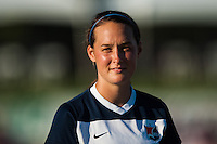 Sky Blue FC defender Madeleine Thompson (25). Sky Blue FC defeated the Washington Spirit 1-0 during a National Women's Soccer League (NWSL) match at Yurcak Field in Piscataway, NJ, on July 6, 2013.