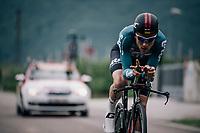 Tosh Van der Sande (BEL/Lotto-Soudal)<br /> <br /> stage 16: Trento &ndash; Rovereto iTT (34.2 km)<br /> 101th Giro d'Italia 2018