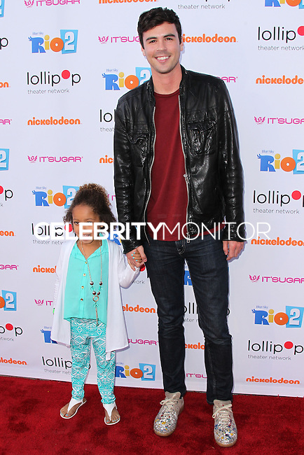 "BURBANK, CA, USA - APRIL 26: Blake Lee at the Lollipop Theater Network's Night Under The Stars Screening Of Twentieth Century Fox's ""Rio 2"" Hosted by Anne Hathaway held at Nickelodeon Animation Studios on April 26, 2014 in Burbank, California, United States. (Photo by Xavier Collin/Celebrity Monitor)"