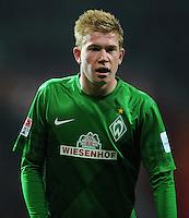 FUSSBALL   1. BUNDESLIGA    SAISON 2012/2013    14. Spieltag   SV Werder Bremen - Bayer 04 Leverkusen                28.11.2012 Kevin De Bruyne (SV Werder Bremen)