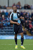 Marcus Bean of Wycombe Wanderers during the Sky Bet League 2 match between Wycombe Wanderers and Luton Town at Adams Park, High Wycombe, England on 6 February 2016. Photo by Andy Rowland.