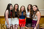 Enjoying the Kerry Youth Club Disco at the Brandon Hotel on Friday were Finola Keane, Roisin Kissan, Casey Jo Nolan, Niamh Canty, Sally O'Flynn, Listowel Youth Club