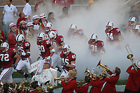 4 November 2006: Mikal Brewer, Stephen Carr, Clinton Snyder, Charlie Hazlehurst, Bobby Dockter, Nick Macaluso, Tyrone McGraw, Bert McBride during Stanford's 42-0 loss to USC at Stanford Stadium in Stanford, CA.