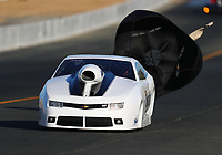Jul 28, 2017; Sonoma, CA, USA; NHRA top sportsman driver Stephanie Warn-Skaggs during qualifying for the Sonoma Nationals at Sonoma Raceway. Mandatory Credit: Mark J. Rebilas-USA TODAY Sports