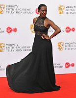 Jacqueline Boatswain at the Virgin TV British Academy (BAFTA) Television Awards 2018, Royal Festival Hall, Belvedere Road, London, England, UK, on Sunday 13 May 2018.<br /> CAP/CAN<br /> &copy;CAN/Capital Pictures
