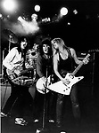 The Runaways 1978 Laurie McAllister, Sandy West, Joan Jett and Lita Ford