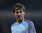 David Silva of Manchester City during the Champions League Group C match at the Etihad Stadium, Manchester. Picture date: November 1st, 2016. Pic Simon Bellis/Sportimage