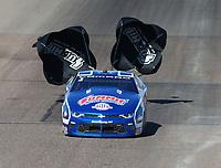 Feb 25, 2018; Chandler, AZ, USA; NHRA pro stock driver Jason Line during the Arizona Nationals at Wild Horse Pass Motorsports Park. Mandatory Credit: Mark J. Rebilas-USA TODAY Sports