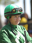 Retired flat ride Andrea Seefeldt Knight picked up a mount at Camden Spring.