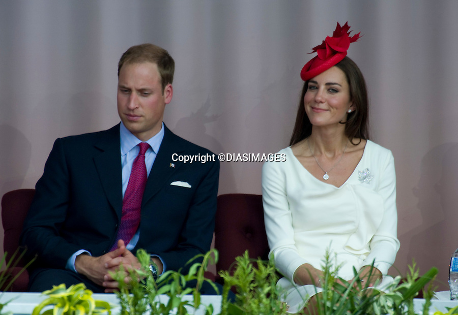 """WILLIAM & KATE ATTEND CANADA DAY CELEBRATIONS.Parliament Hill, Ottawa_01/07/2011.Mandatory Credit Photo: ©DIAS-DIASIMAGES..**ALL FEES PAYABLE TO: """"NEWSPIX INTERNATIONAL""""**..IMMEDIATE CONFIRMATION OF USAGE REQUIRED:.DiasImages, 31a Chinnery Hill, Bishop's Stortford, ENGLAND CM23 3PS.Tel:+441279 324672  ; Fax: +441279656877.Mobile:  07775681153.e-mail: info@newspixinternational.co.uk"""