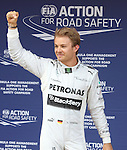 11.05.2013 Barcelona, Spain. Formula 1 Qualifying Session. Picture show Nico Rosberg after finish Q3 at circuit de Catalunya