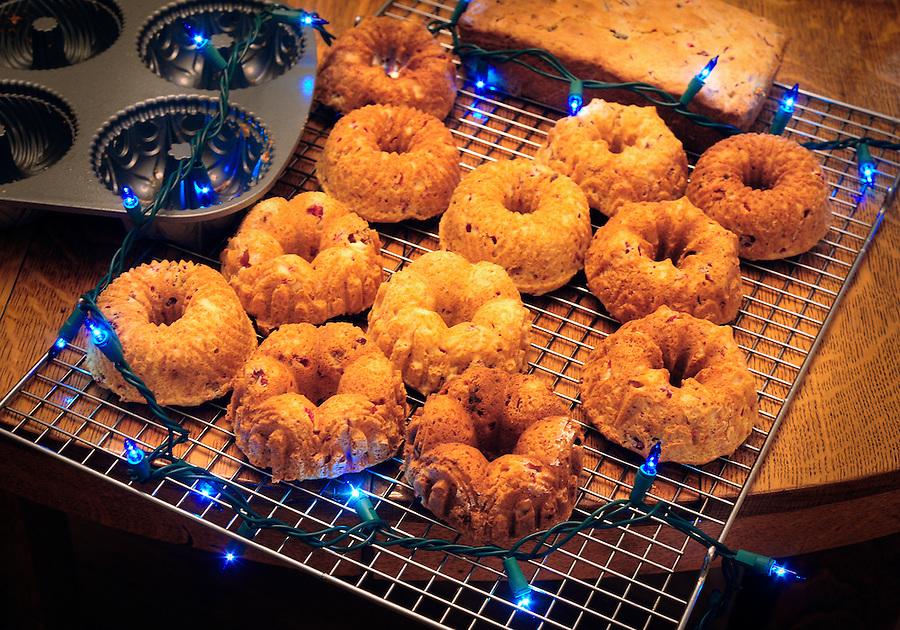 Deborah Mendenhall's original recipe Cranberry-Lemon zest breads on December 20, 2015