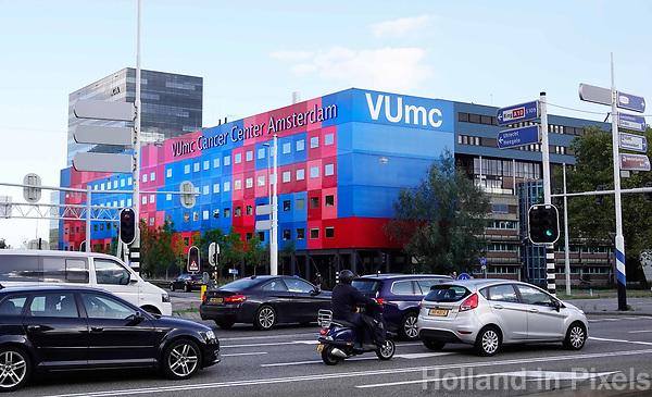 Nederland Amsterdam - September 2018.VUmc Cancer Center Amsterdam.  VU Medisch Centrum op de Zuidas.  Foto Berlinda van Dam / Hollandse Hoogte