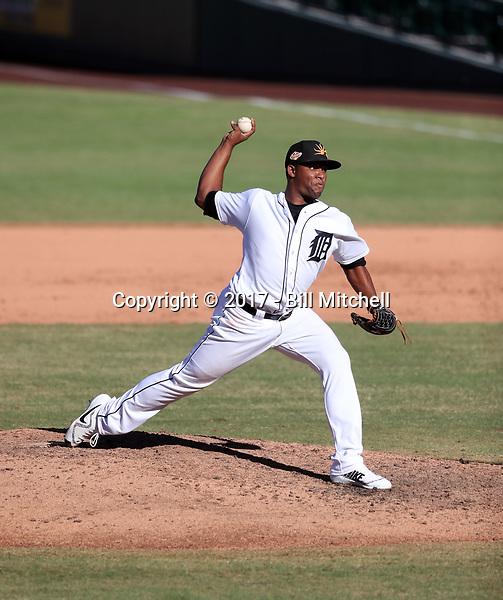 Gerson Moreno - Mesa Solar Sox - 2017 Arizona Fall League (Bill Mitchell)