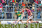 Kerry's Colm Cooper goes past Galwey's Finian Hanley during their Allianz National Football League clash in Killarney last Sunday