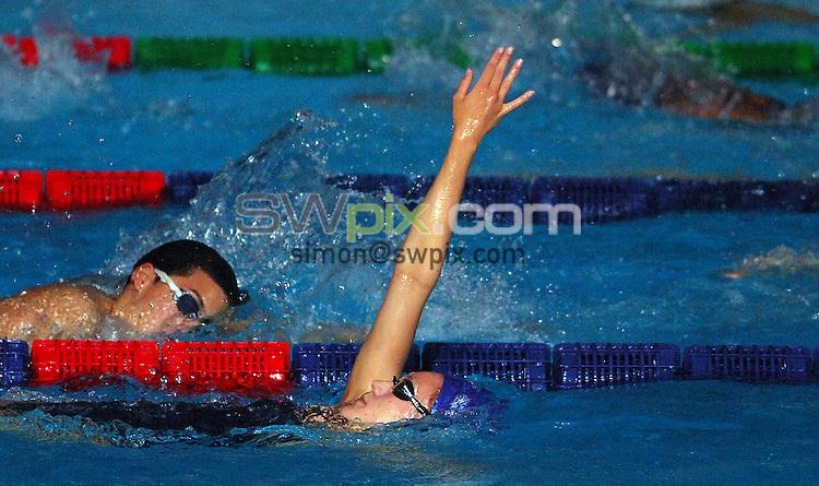 PICTURE BY VAUGHN RIDLEY/SWPIX.COM - GB Training - 12th FINA World Championships - Rod Laver Arena, Melbourne, Australia - 23/03/07...Copyright - Simon Wilkinson - 07811 267706...Great Britain's Elizabeth Simmonds.