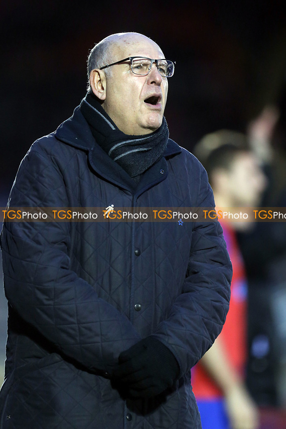 Dagenham manager John Still during Dagenham & Redbridge vs Solihull Moors, Vanarama National League Football at the Chigwell Construction Stadium on 27th January 2018