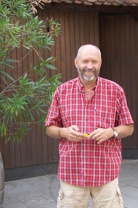 Marc Kreydenweiss. Domaine Marc Kreydenweiss, Andlau, Alsace, France