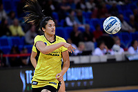 Pulse' Sulu Fitzpatrick the ANZ Premiership - Pulse v Stars at Te Rauparaha Arena, Porirua, New Zealand on Wednesday 3 April 2019. <br /> Photo by Masanori Udagawa. <br /> www.photowellington.photoshelter.com