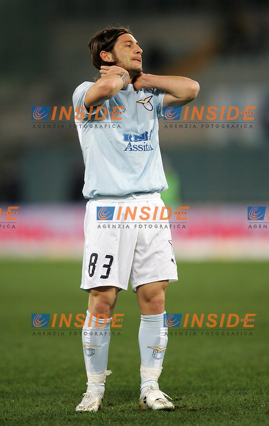 Pasquale Foggia (Lazio)<br /> Italian &quot;Serie A&quot; 2006-07 <br /> 20 December 2006 (Match Day 17) <br /> Lazio-Inter (0-2) <br /> &quot;Olimpico&quot; Stadium-Roma-Italy <br /> Photographer Andrea Staccioli INSIDE