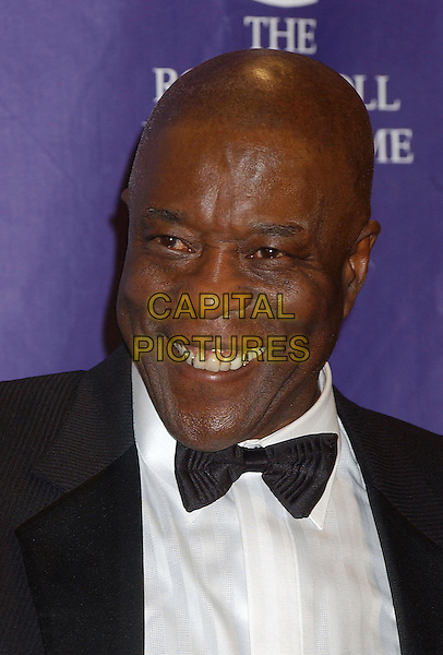 BUDDY GUY.2005 Rock and Roll Hall of Fame Induction Ceremony held at the Waldorf Astoria, New York, New York.March 14th, 2005.Photo Credit: Laura Farr/AdMedia.inductee headshot portrait bow tie.www.capitalpictures.com.sales@capitalpictures.com.© Capital Pictures.