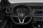 Car pictures of steering wheel view of a 2019 Nissan Kicks SV 5 Door SUV