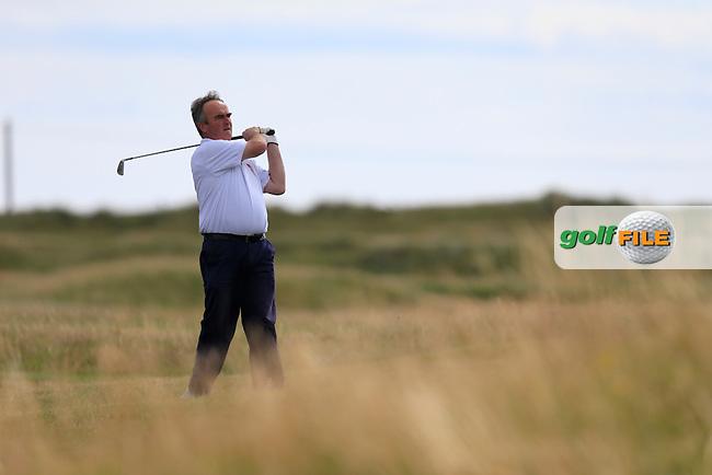 Fergus Garland (Birr) during the Leinster semi final of the Jimmy Bruen, Royal Dublin Golf Club,Dublin, Ireland.  01/08/2015.<br /> Picture: Golffile | Fran Caffrey<br /> <br /> <br /> All photo usage must carry mandatory copyright credit (&copy; Golffile | Fran Caffrey)