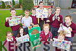PHONE UP: Pupils of St Brigid's school in Duagh who are appealing for old mobile phones for the Jack and Jill Foundation, front l-r: Eilish Cotter, Michelle Sheehy, Eva Flynn, Muirioch McNulty. Back l-r: Charlie Johnson, Thomas Dore, Daniel McAuliffe, Lisa McCarthy (Teacher), Clodagh Joy, Aimee O'Connell, Sean White.