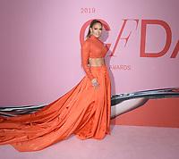03 June 2019 - New York, New York - Jennifer Lopez. 2019 CFDA Awards held at the Brooklyn Museum. <br /> CAP/ADM/LJ<br /> ©LJ/ADM/Capital Pictures