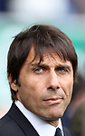 Antonio Conte manager of Chelsea during the English Premier League match at Goodison Park , Liverpool. Picture date: April 30th, 2017. Photo credit should read: Lynne Cameron/Sportimage